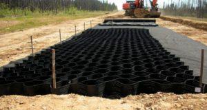 укрепления строительной почвы