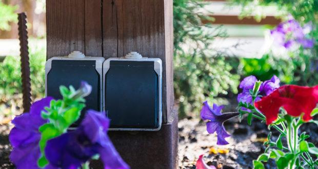 Садовая розетка: на что обращать внимание при использовании уличной розетки