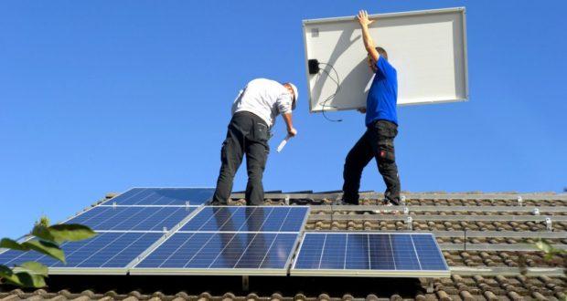 Как устанавливается солнечная система на крыше