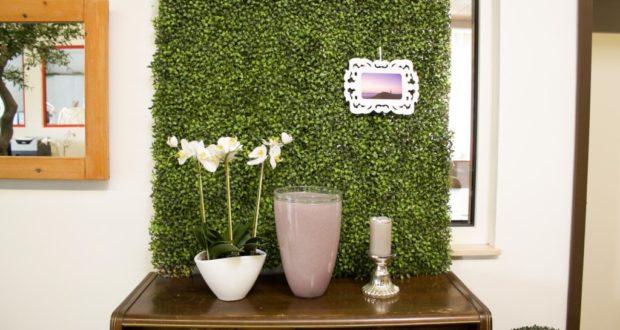 Искусственная зеленая стена