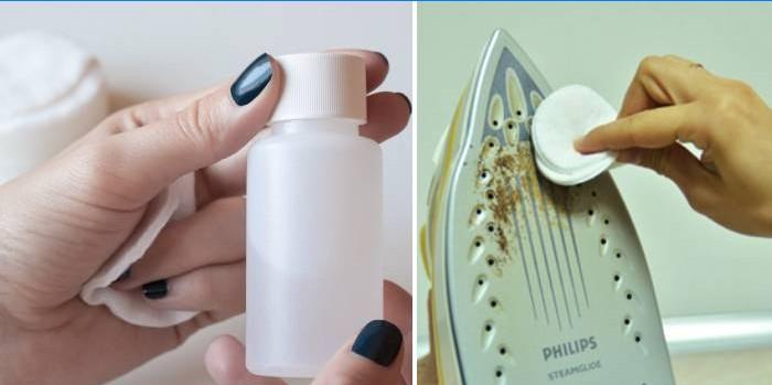 жидкость для снятия лака - утюг от накипи в домашних условиях