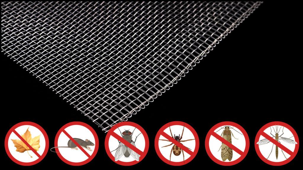Средство от насекомых номер два: сетка от мух