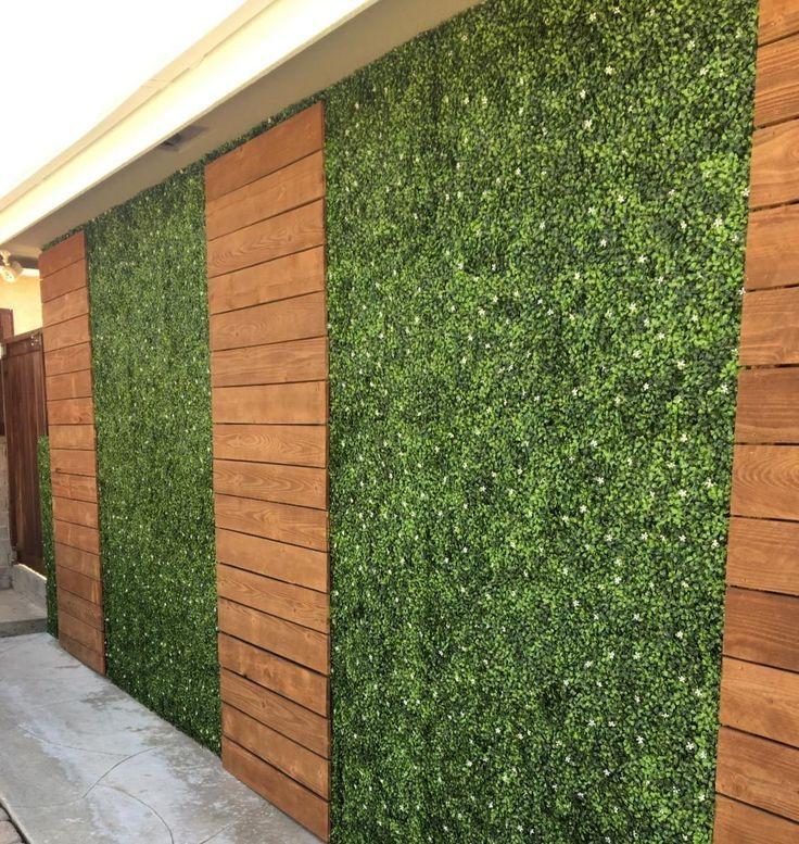 Стена зеленая