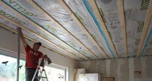 Утеплить скатные крыши и наклонные потолки
